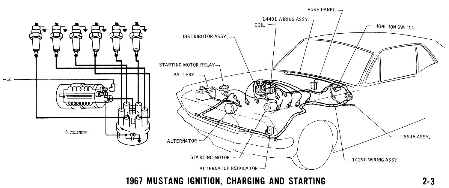 Technik Plan on 1971 ford f100 ignition wiring diagram