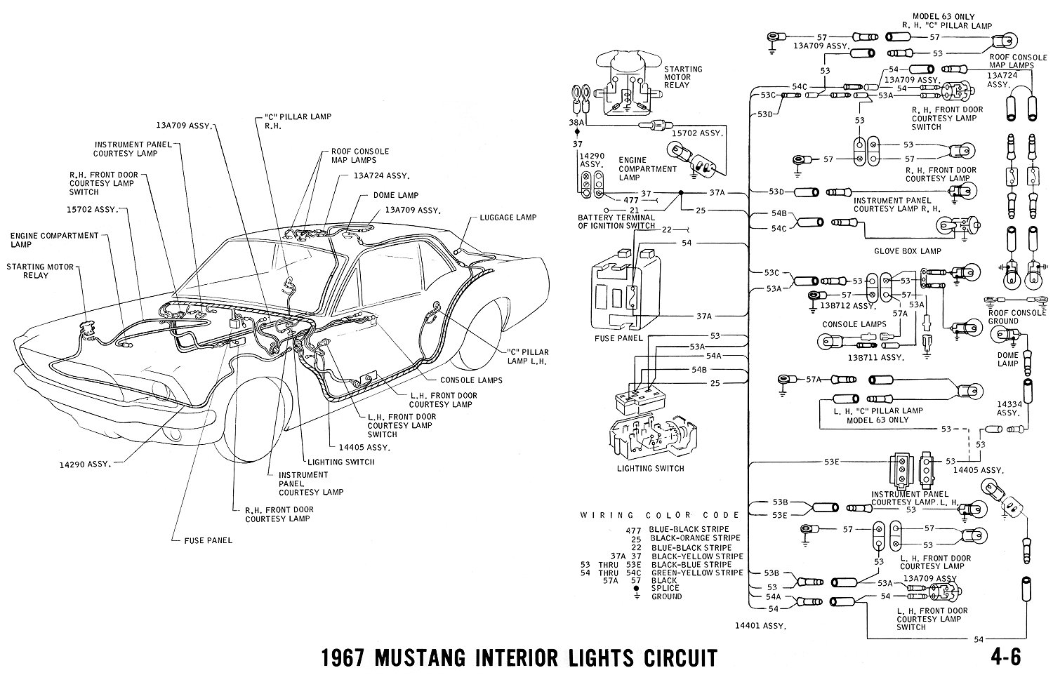 1968 mercury fuse box diagram