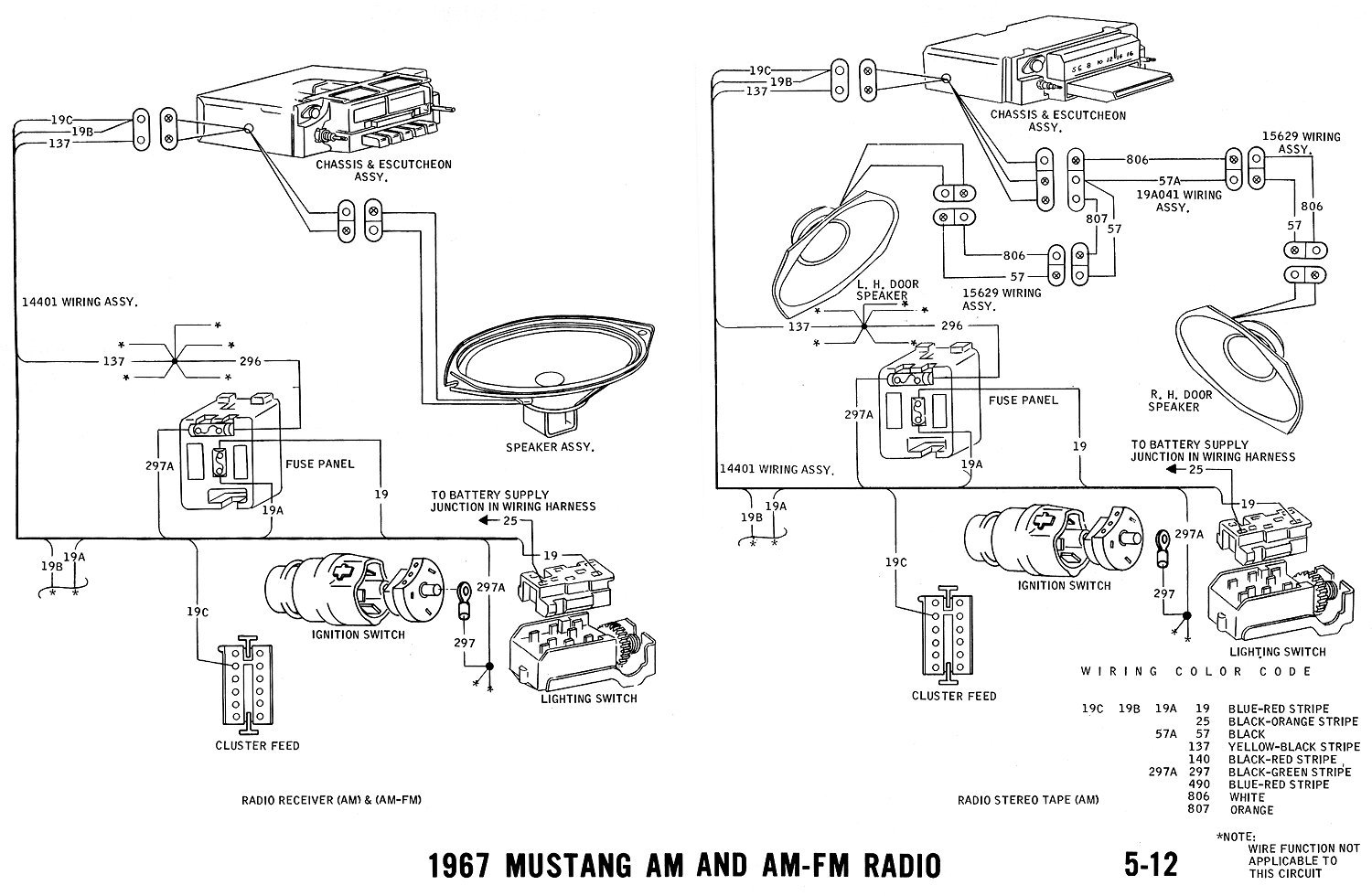 1965 mustang headlight wiring  1965  free engine image for